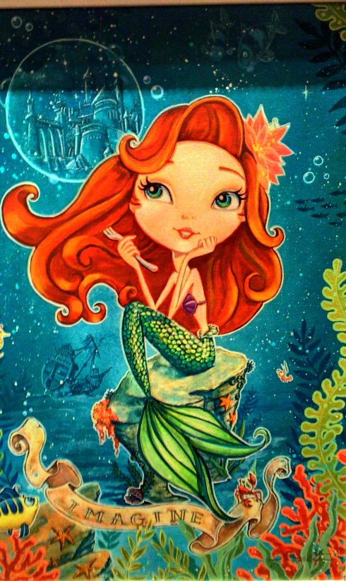 Ariel . Disneyland