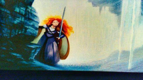 Merida . Brave . Disneyland