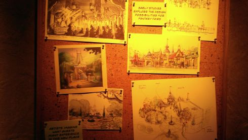 Disneyland Concept Art