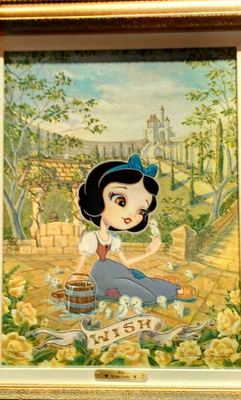 Snow White . Disneyland
